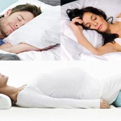 หมอนและการนอนในท่าทางต่างๆ