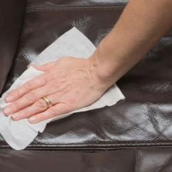 วิธีการทำความสะอาดโซฟาหนังแบบถูกวิธี